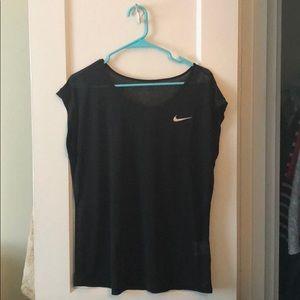 Nike Sheer Dri-Fit Exercise Top